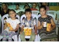 Gündoğdu'da sokak sineması keyfi