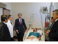 Şanlıurfa'da doktorun darp edilmesi
