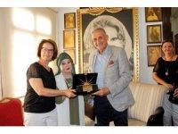 Bedia Akartürk'ün 'Yaşam Boyu Başarı Ödülü' kendi müzesinde