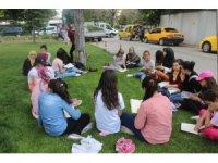 Kitap okumayı teşvik için etkinlik düzenlediler