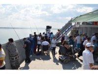 Engellilerin tekne turu mutluluğu
