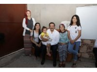 Başkan Atilla'dan aile ziyaretleri
