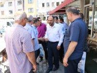 Beyşehir'de esnafla sabah buluşmaları