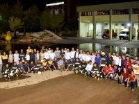 Özbek itfaiyeciler Türkiye'de eğitim aldı