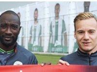 Konyasporlu futbolculardan Türkiye'nin EURO 2024 adaylığına destek
