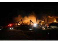 GÜNCELLEME - Şanlıurfa'da iplik fabrikasında yangın