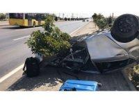 Afyonkarahisar'da trafik kazası; 3 yaralı