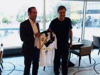 Adil Gevrek, FC Lugano Başkanı Angelo Renzetti'yi ağırladı