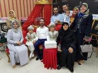 Çeşmeci ailesinin sünnet sevinci
