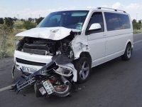 Konya'da minibüsle motosiklet çarpıştı: 2 ölü