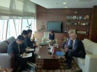 Japonya Büyükelçisi'nden, ASO'ya işbirliği çağrısı
