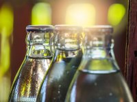 Cam su şişelerindeki büyük tehlike