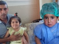 Mercek ameliyatı minik Kübra'yı gözünden etti