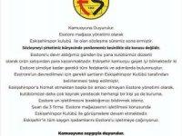 Esstore ile Eskişehirspor'un sözleşmesi sona erdi