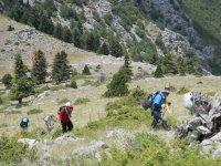 Seydişehir'de Kalafat Dağı'na 15 Temmuz tırmanışı