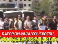 Engelli maaşı alıp PKK'ya aktarmışlar!