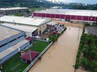 Fatsa'da OSB sular altında kaldı