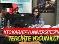KTO Karatay Üniversitesi'ne tercihte  yoğun ilgi