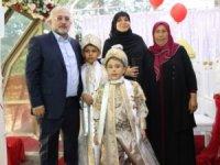 Yaşar ailesinin sünnet sevinci