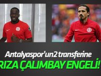 Antalyaspor'da iki yeni transfere Rıza Çalımbay engeli!