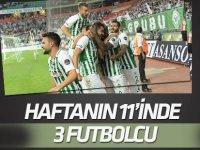 Haftanın 11'inde 3 Konyasporlu futbolcu