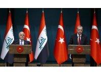 Erdoğan-İbadi ortak basın toplantısı