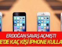 Türkiye'de kaç kişi iPhone kullanıyor?