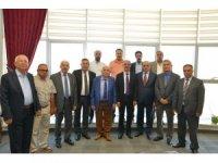 Kırşehirliler Federasyonundan AEÜ hentbol takımına destek