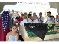 Öldürülen özel güvenlikçi gözyaşları arasında son yolculuğuna uğurlandı