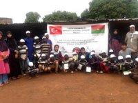 Dost Eli'nden Burkina Faso'ya yardım