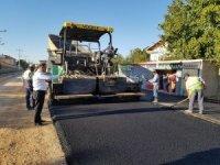 Ilgın'nda Menderes Caddesi asfaltlanıyor