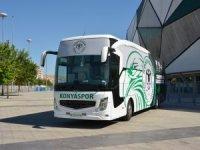 Konyaspor takım otobüsü yenilendi