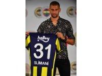 Islam Slimani Fenerbahçe'ye imzayı attı