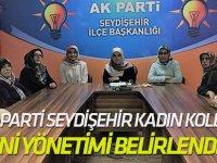 Ak Parti Seydişehir Kadın Kolları yeni yönetimi belirlendi