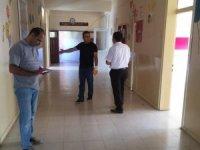 Derebucak'taki okullarda bakım ve onarım çalışmaları