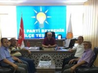 AK Parti İlçe Başkanı Şenol'a ziyaretler