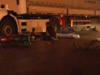 Konya'da tır ile motosiklet çarpıştı: 2 ölü, 1 yaralı