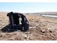 Şanlıurfa'da hafif ticari araç devrildi: 5 yaralı