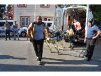 GÜNCELLEME 3 - Bartın'da minibüs şarampole devrildi