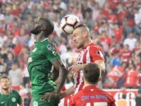 """Konyaspor """"TL"""" simgeli formayla çıktı"""