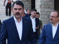 """Bakan Murat Kurum: """"Birlik olduğunuzda sizin bileğinizi kimse bükemez"""""""