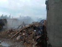Isparta'da ev yangını