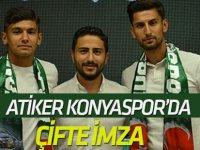 Atiker Konyaspor'da çifte imza