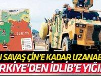 Türkiye'den İdlib yığınağı