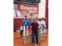 Konya Karate Şampiyonası Seydişehir'de yapıldı