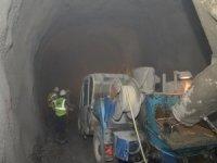 Afşar-Bağbaşı Hadimi Tüneli'nde çalışmalar sürüyor