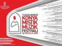 15. Uluslararası Konya Mistik Müzik Festivali başlıyor