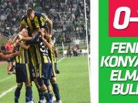 Fenerbahçe Konya'da 'Elmas' buldu!