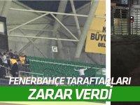 Konyaspor Kulübü'nden Fenerbahçe taraftarına tepki