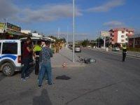 Ilgın'da minibüs ile motosiklet çarpıştı: 1 yaralı